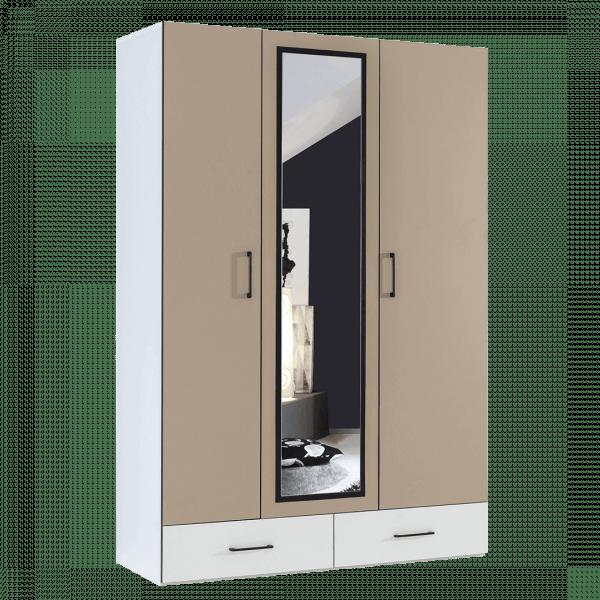 armoire 3 portes avec penderie