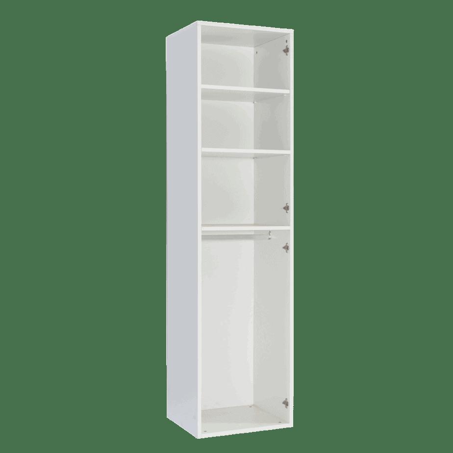 armoire colonne vertical 2 portes battantes ouverte